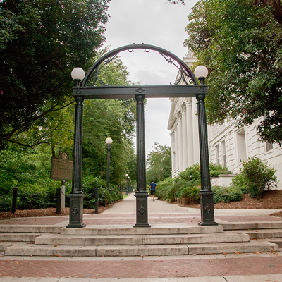 UGA Arch on North Campus